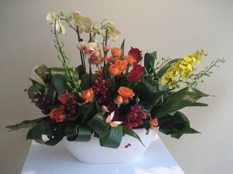 AN 21-360,00 Ron-Aranjament mix plante si flori
