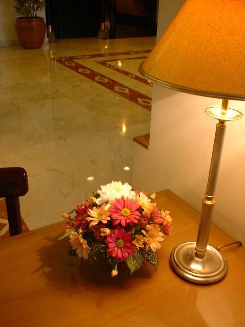 RC 01-40,00 Ron-Aranjament floral cu eurocrizanteme
