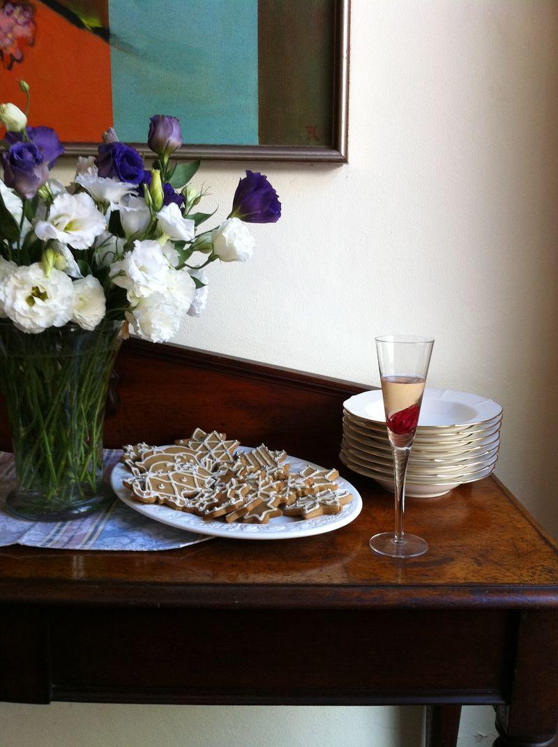 RC 08-60,00 Ron-Aranjament floral cu lisianthus