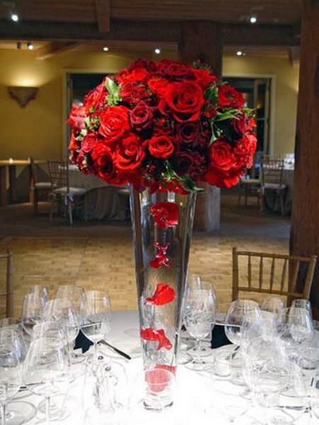 FP 06-850,00 Ron-Aranjament floral cu trandafiri, minirosa si maci